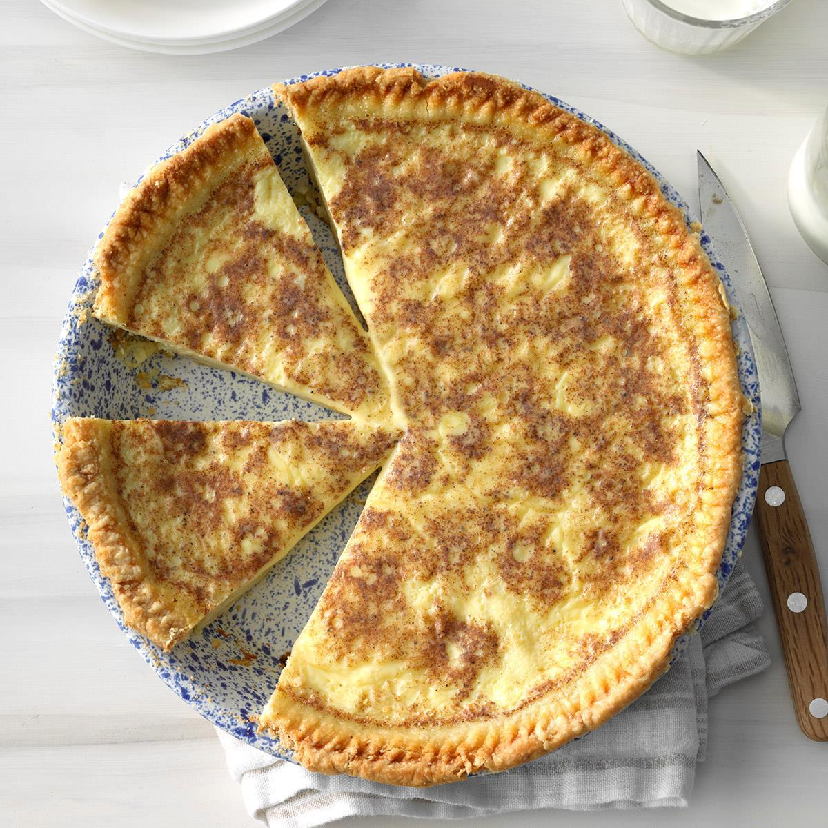 Old-fashioned Custard Pie photo