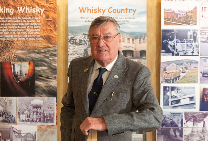Gallery To Bring Back To Life Last Era When Hands-on Experience Ruled Technology In Speyside Whisky Industry photo