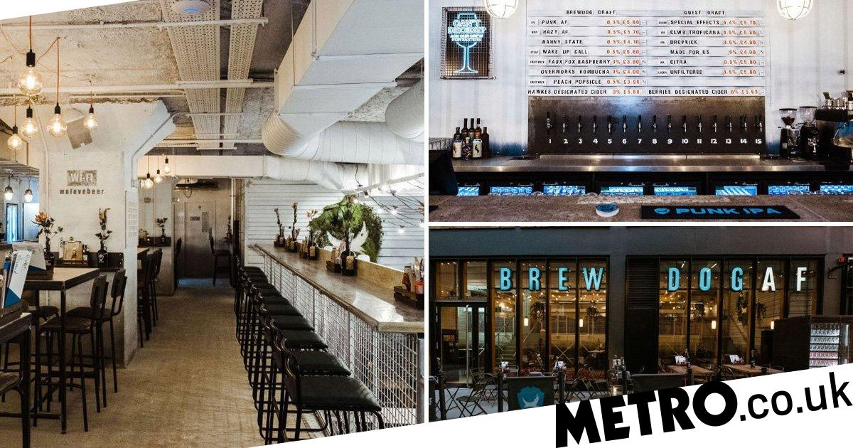 Brewdog Is Launching Their First Entirely Alcohol-free Beer Bar photo