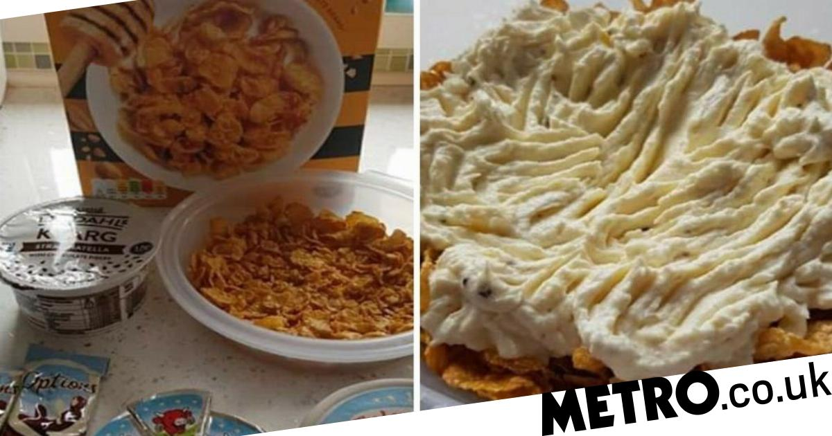People Are Horrified By Diet 'cheesecake' Made From Cornflakes And Cheese photo