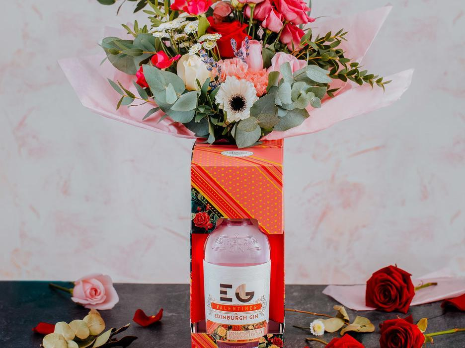 Limited Edition Edinburgh Gin Bouquets Are Back For Valentine's Day After Last Year's Sell Out photo