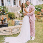 Former Miss Universe Ties The Knot With NFL Star In The Heart Of The Cape Winelands photo