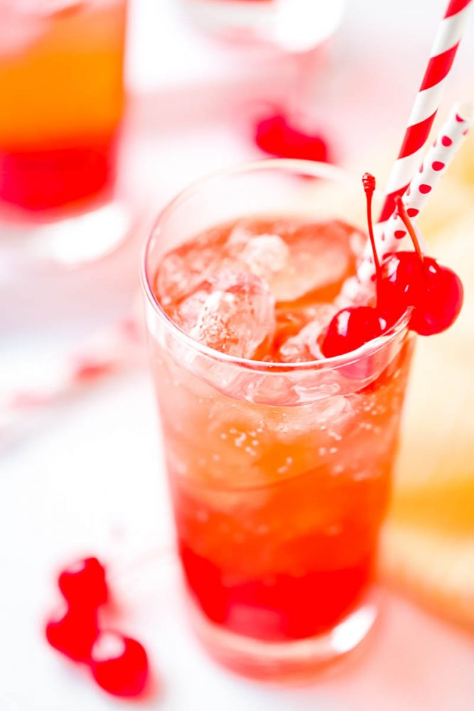 Shirley Temple Drink Recipe 667x1000 Best Non Alcoholic Beverages to Order