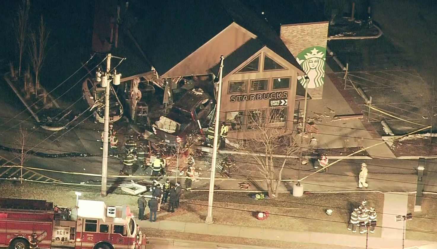 Witnesses Describe Horror Of Accident At Mchenry Starbucks photo