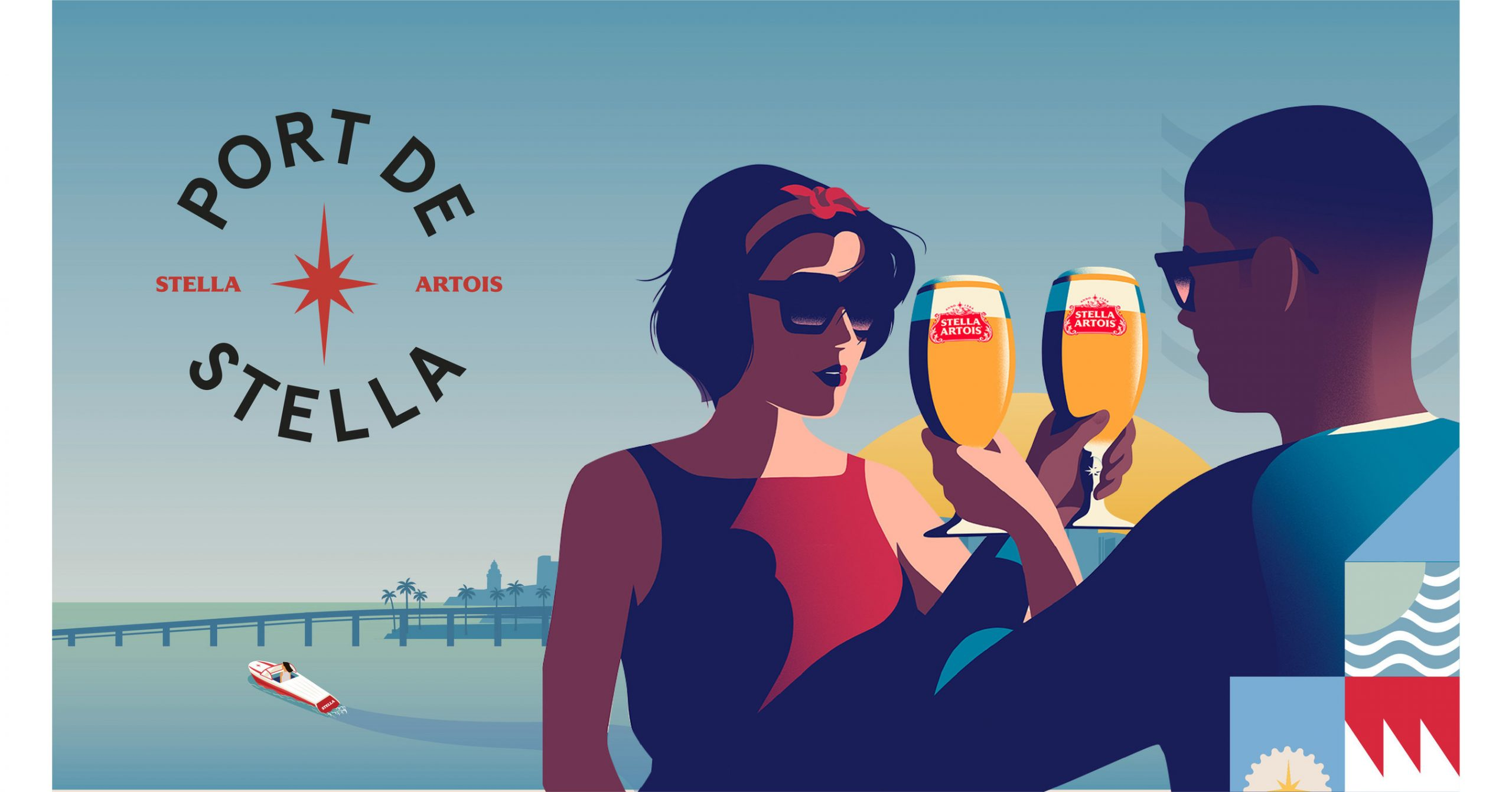Stella Artois Docks 'port De Stella' In Miami For Debut Ahead Of Super Bowl Liv Alongside Host Priyanka Chopra Jonas And Special Guest Karamo Brown photo