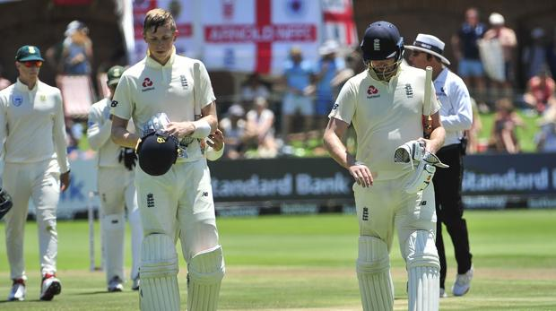 Slow England Lose Both Openers Before Tea photo