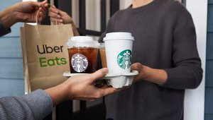 Starbucks Adds 33 Markets To Delivery Route photo