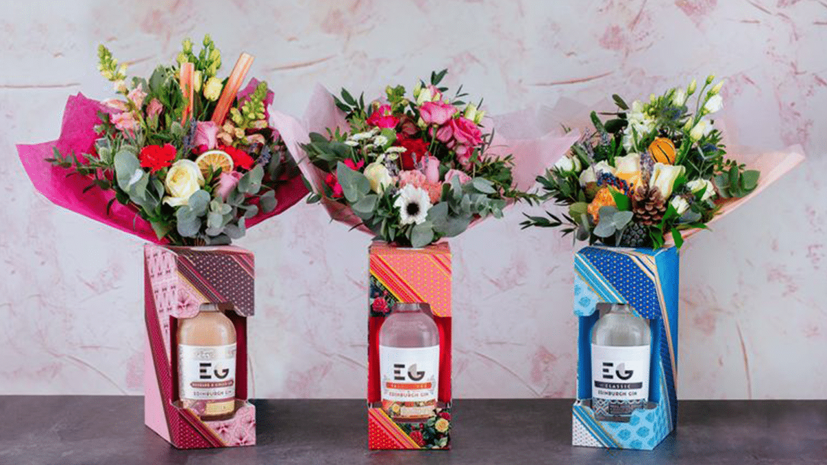 Edinburgh Gin Has Released The Perfect Gin Bouquet For Valentine's Day photo