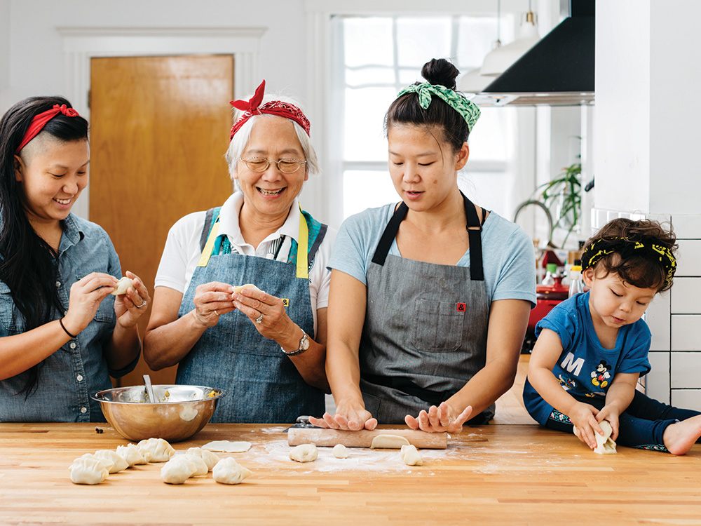 Cook This: Three Sisters Dumplings From Double Awesome Chinese Food photo