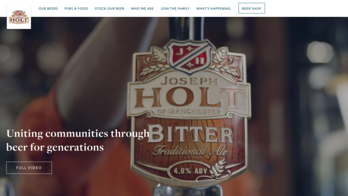 Design By Day Launches Refreshing New Website For Joseph Holt photo