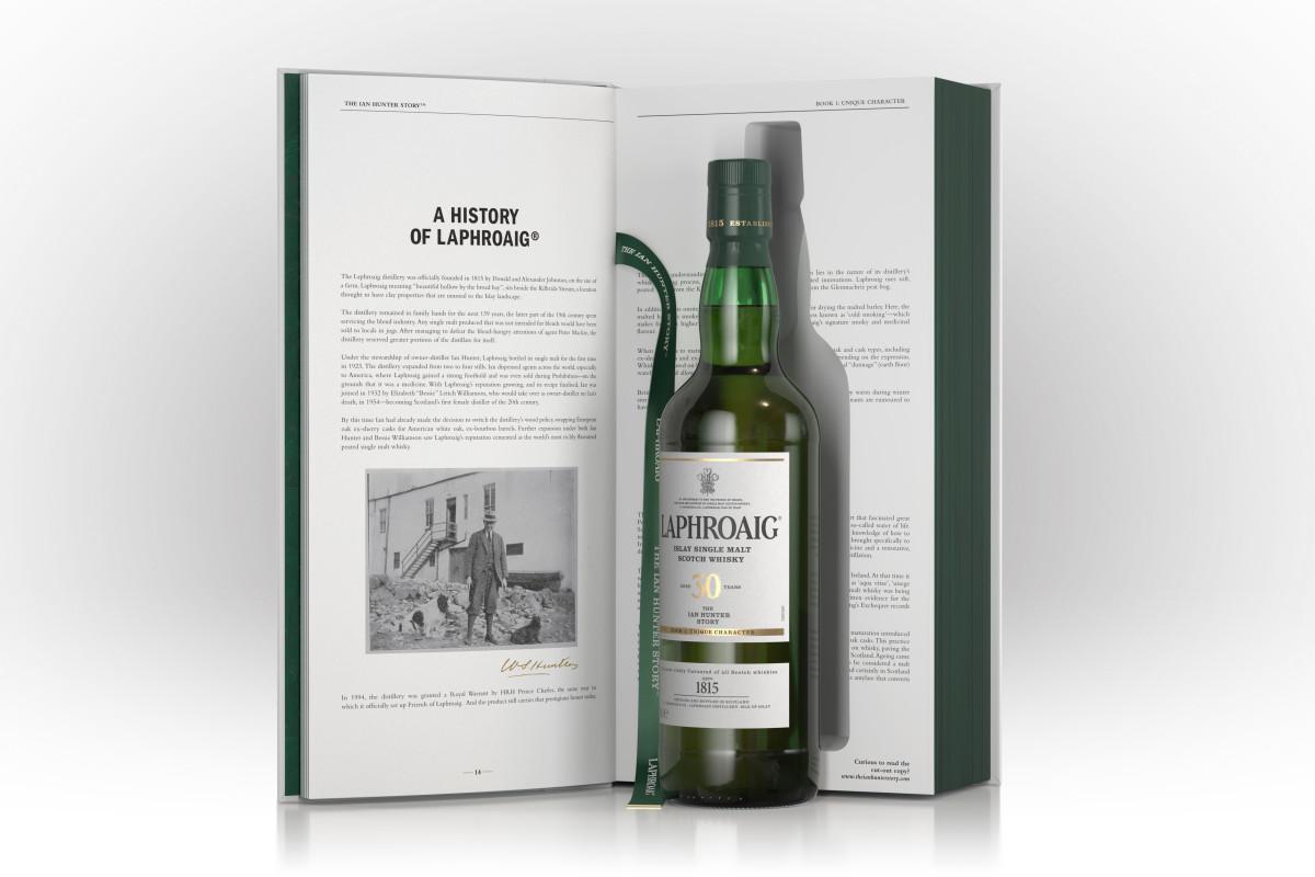 Laphroaig's 'the Ian Hunter Series' Hits Shelves At $2,000 A Bottle photo