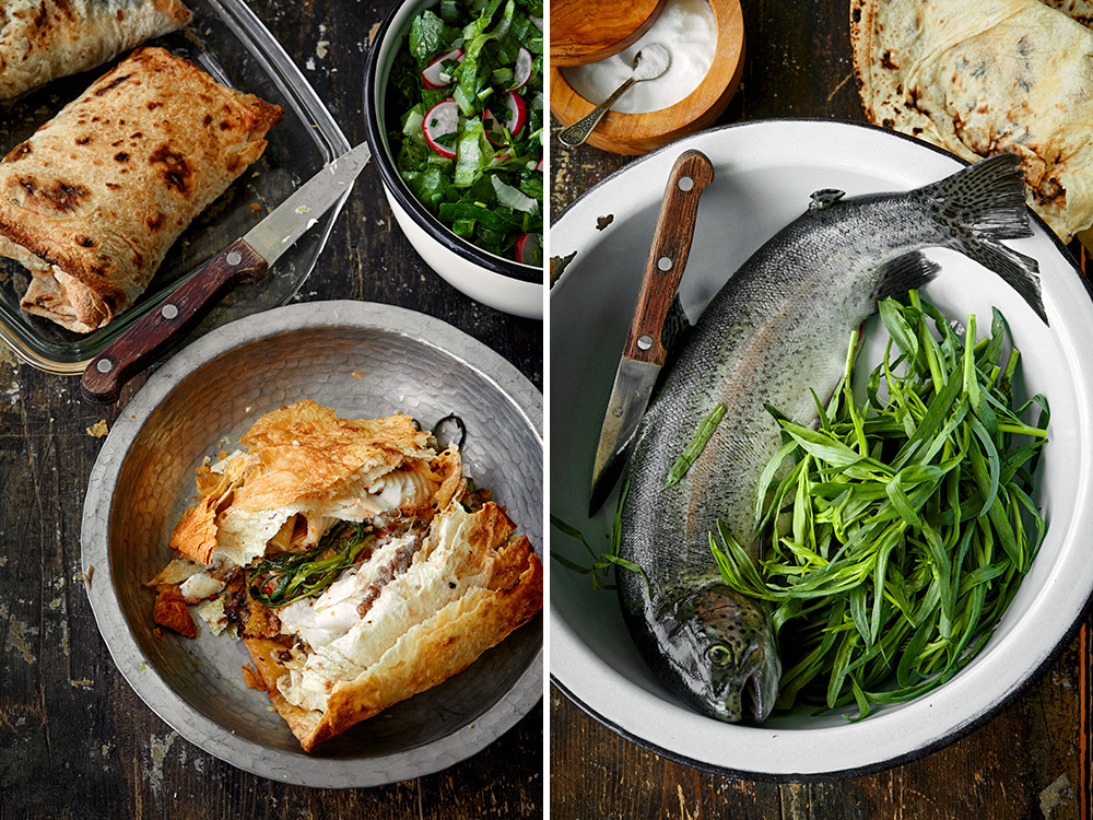 Cook This: Lavash-wrapped Trout From Lavash, The Cookbook photo