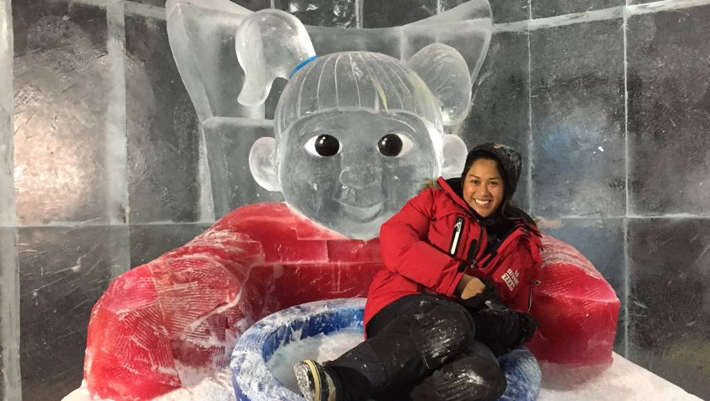 Blair Athol Snow Sculptor Prepares For Japanese Championship photo
