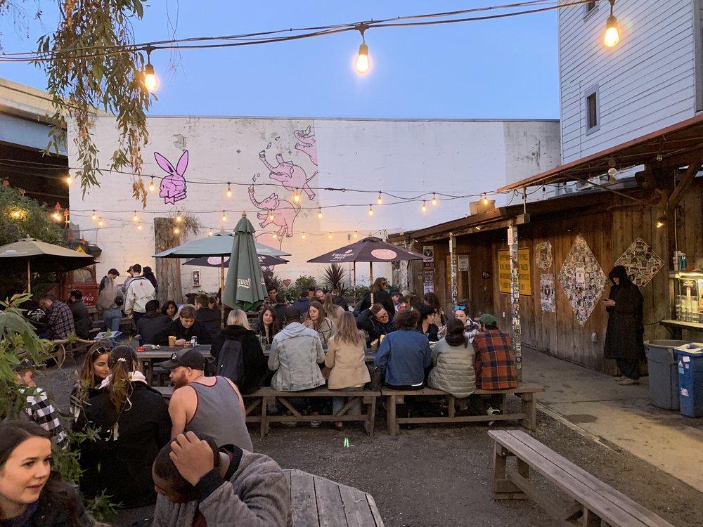Zeitgeist Returns After A Brief Closure In San Francisco's Mission District photo