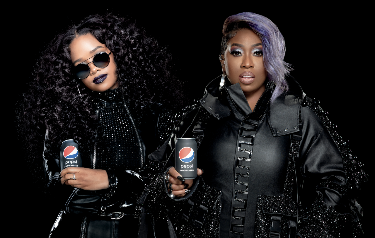 Pepsi: Paint It Black photo