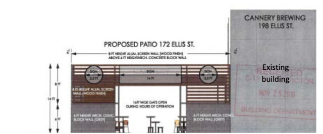 Cannery Brewing Proposes New 199-seat Patio photo