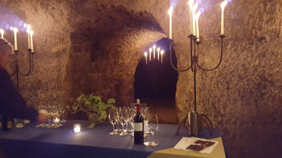 tasting room in the cave Our Favorite Wine Caves In California For Subterranean Sipping