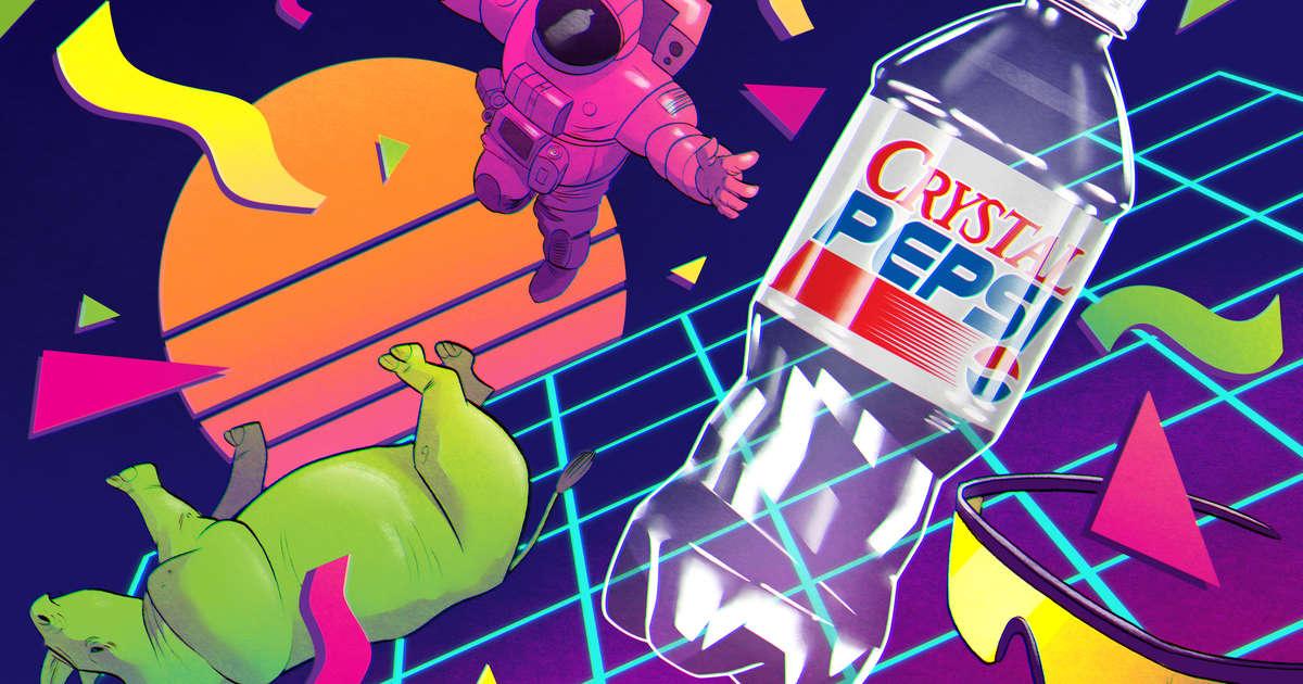 How Crystal Pepsi Became The Soda World's Greatest Fail photo
