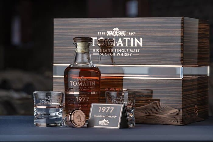 Latest Tomatin Scotch Aged Some 42 Years In Ex-sauternes Wine Cask photo