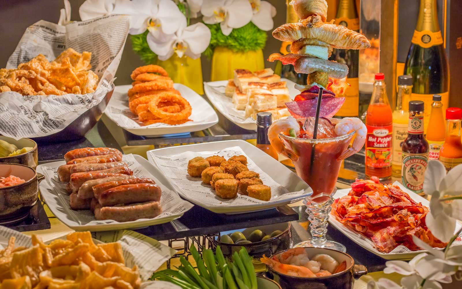 This Bloody Mary Bar Has 48,000 Combinations photo
