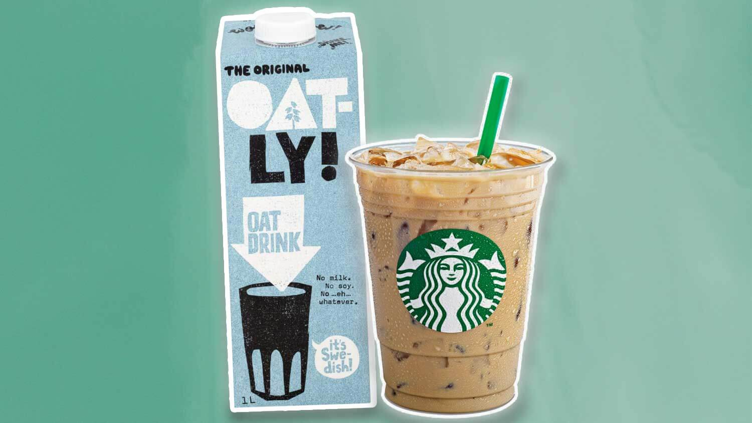 Starbucks Just Launched Vegan Oat Milk In 1,300 Locations photo