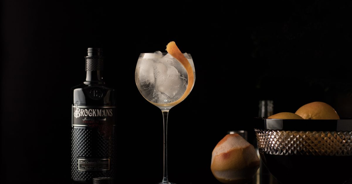 Here's How You Can Win A Bottle Of Brockmans Gin And Tickets To The Glasgow Gin To My Tonic Show At The Sec photo