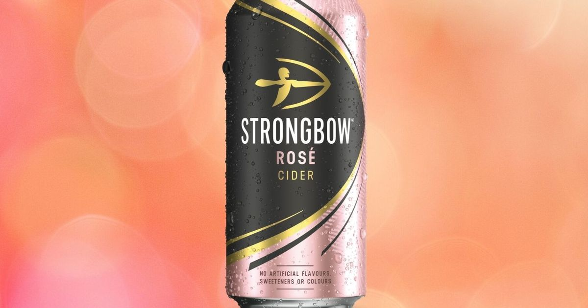 Strongbow Launch New Rosé Cider And It's Available At Uk Supermarkets photo