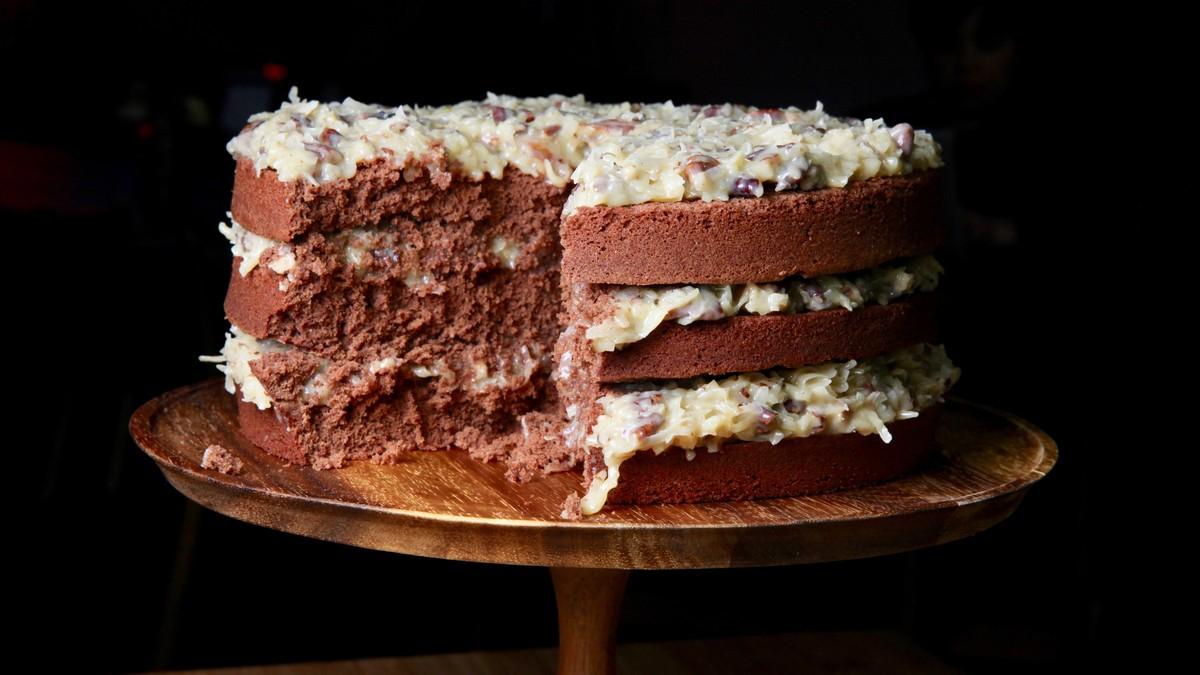German Chocolate Cake Recipe photo