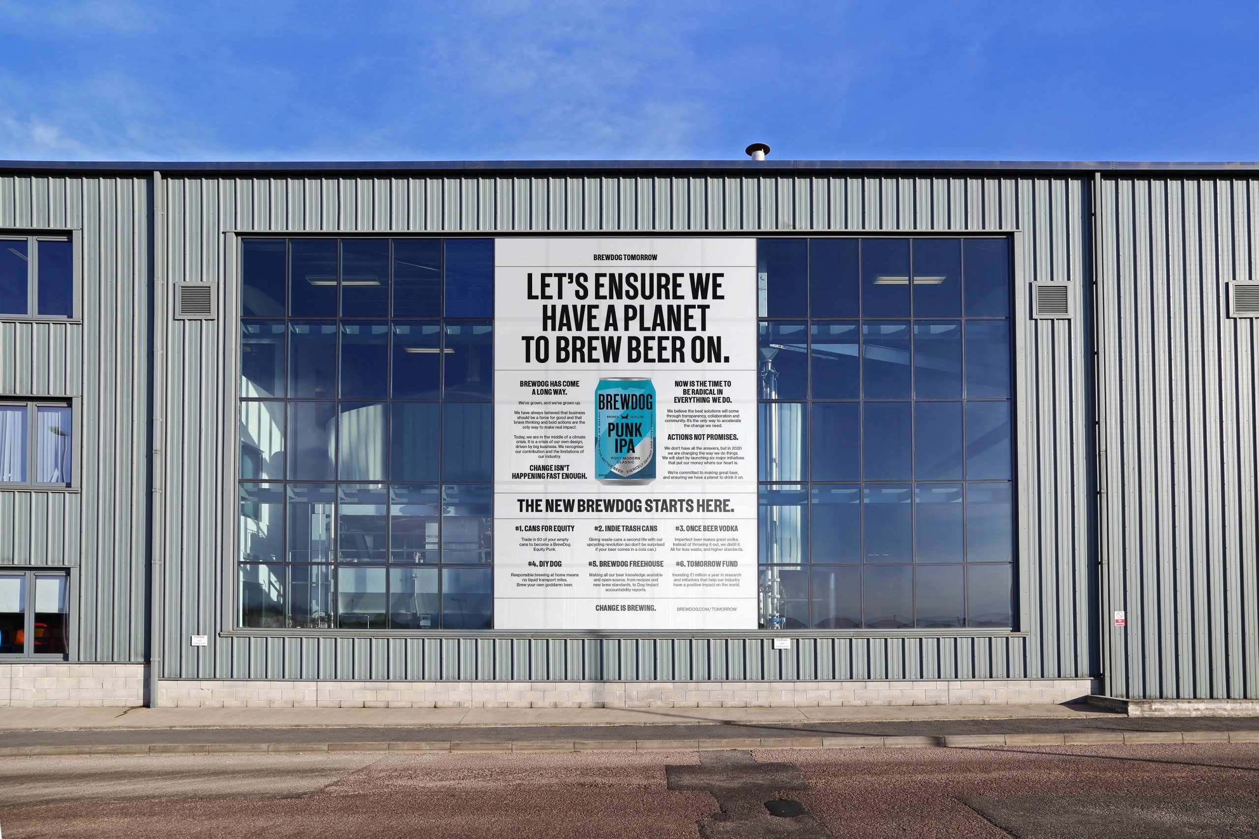 Brewdog Is Offering Its Own Shares In Exchange For Empty Beer Cans photo