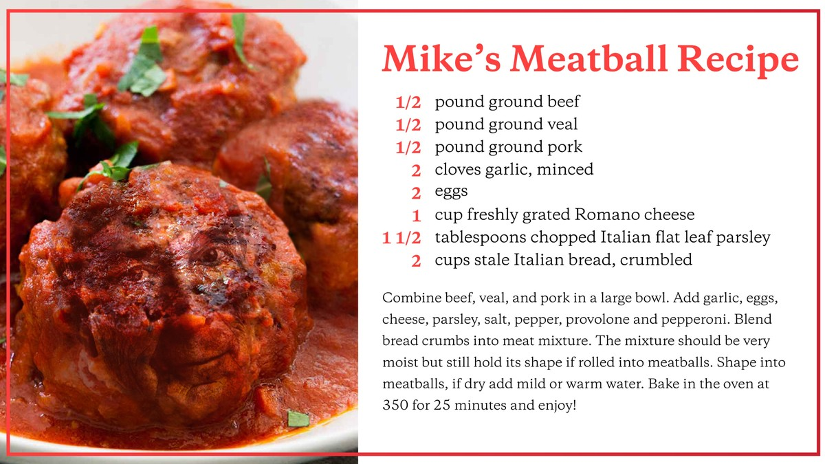 There's A Mike Bloomberg In My Meatballs! photo
