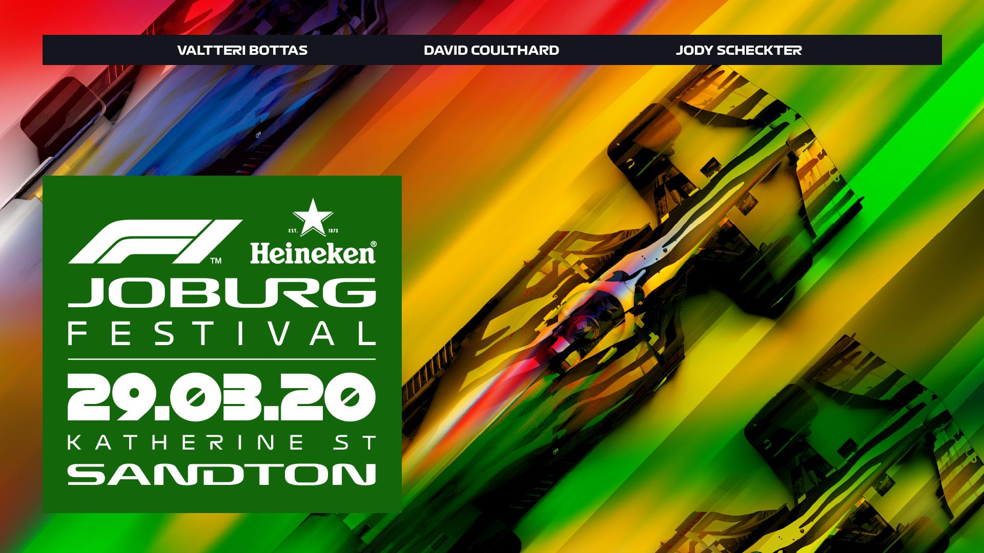 F1 And Heineken To Bring Spectacle Of Racing Back To South Africa With Joburg Festival photo