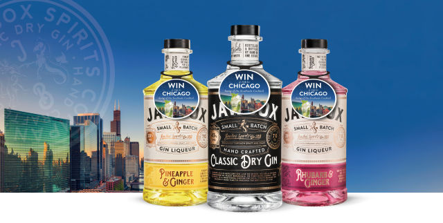 Jawbox Gin Offers Consumers Chance To Win A Trip To Chicago photo