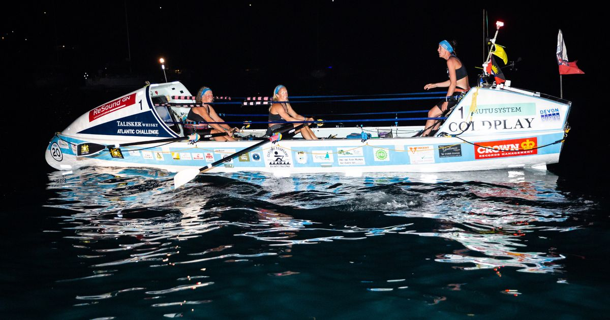First Deaf Woman To Row Across The Atlantic Is From Cornwall photo