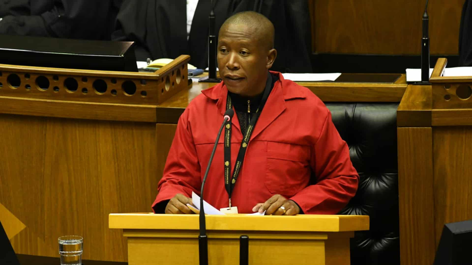 Sona Debate: Malema Accused Of 'abusing Wife' In Shock Exchange photo