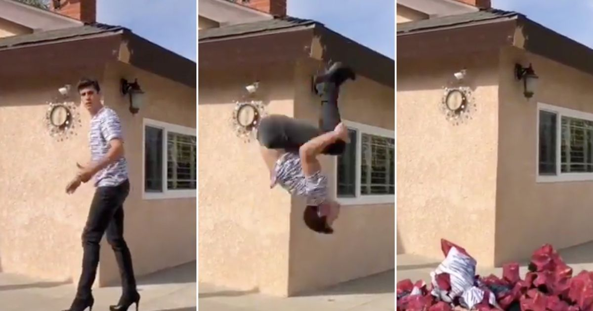 Here's The Story Behind That Viral Backflip That's Making Everyone Freak Out photo
