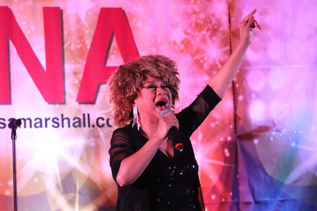 Watch: Tina Turner Turns Heads At Vernon Winter Carnival Luncheon photo