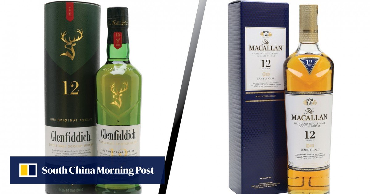 Whisky Debates: Glenfiddich 12yo Vs Macallan Double Cask 12 Years Old photo
