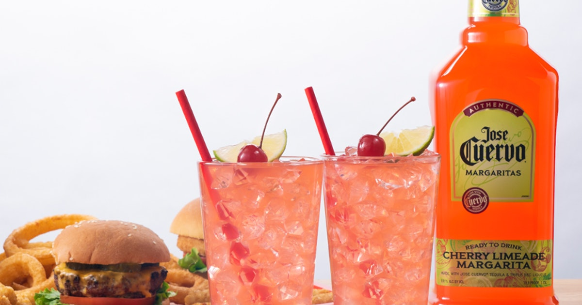 Jose Cuervo Has A New Cherry Limeade Margarita That Has The Tastiest Fruity Twist photo
