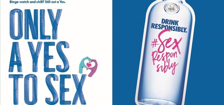 Absolut Vodka Urges Drinkers To 'sex Responsibly' photo