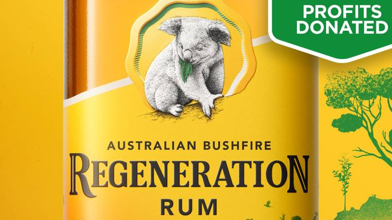 Bundaberg Rum Releases Limited Edition Bottle To Raise Money For Bushfire Affected Animals photo