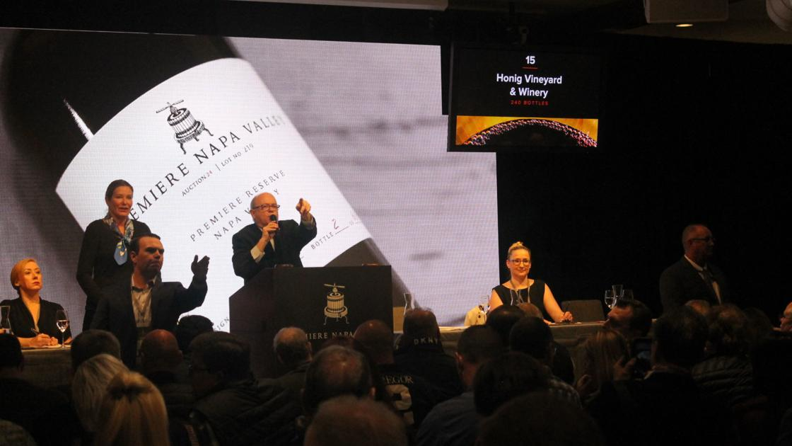 $3.9 Million Raised At Premiere Napa Valley Barrel Auction photo
