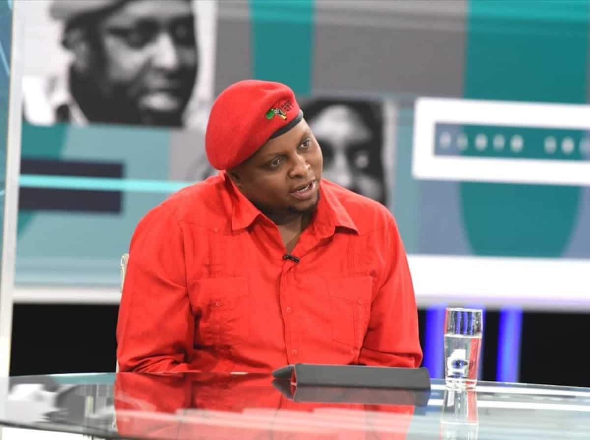 Shivambu: 'mr President, If They Say All Is Well, They're Singing For Supper' photo