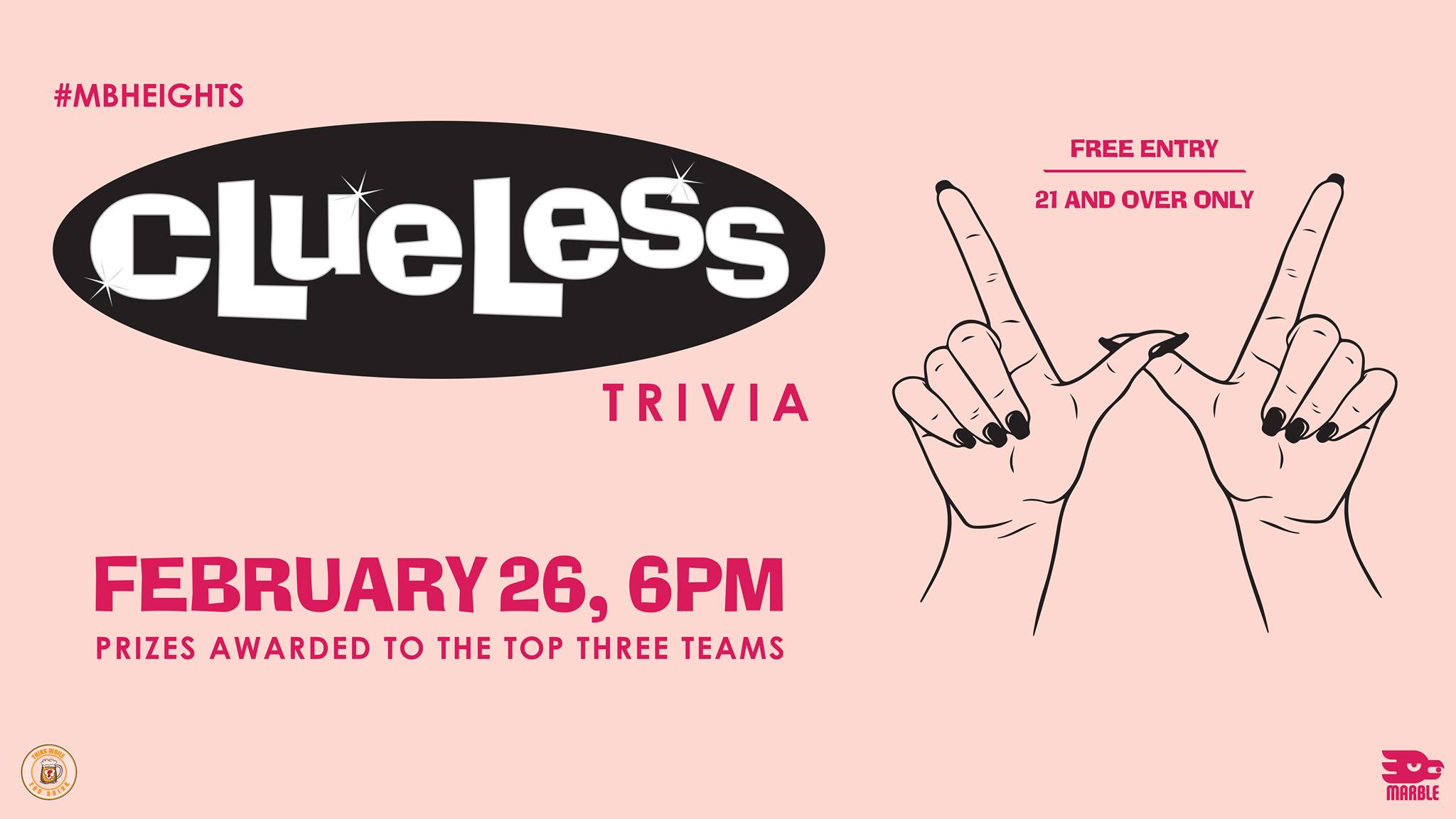Clueless Trivia At Marble Brewery, Albuquerque photo