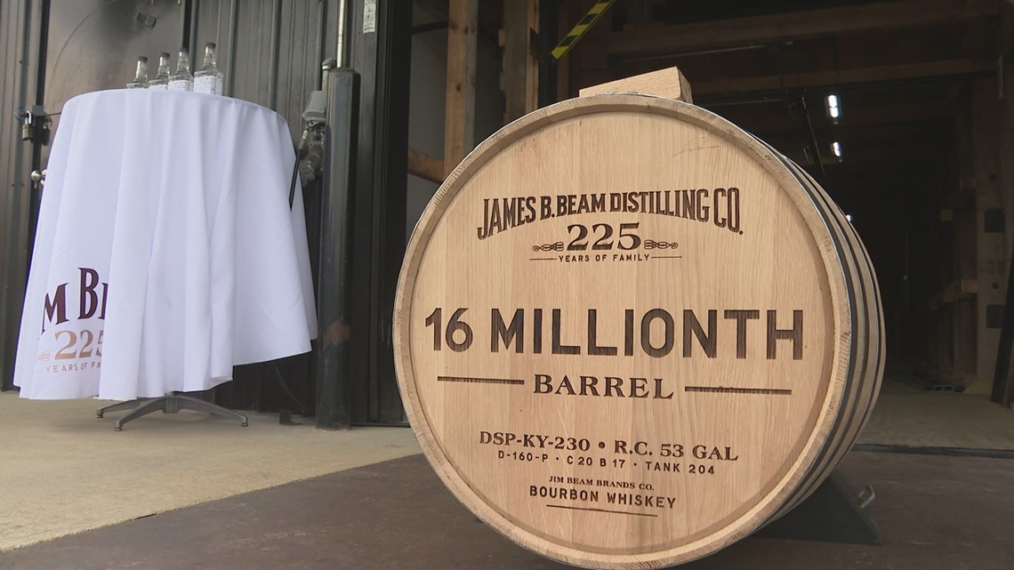 Jim Beam Fills Its 16 Millionth Barrel photo