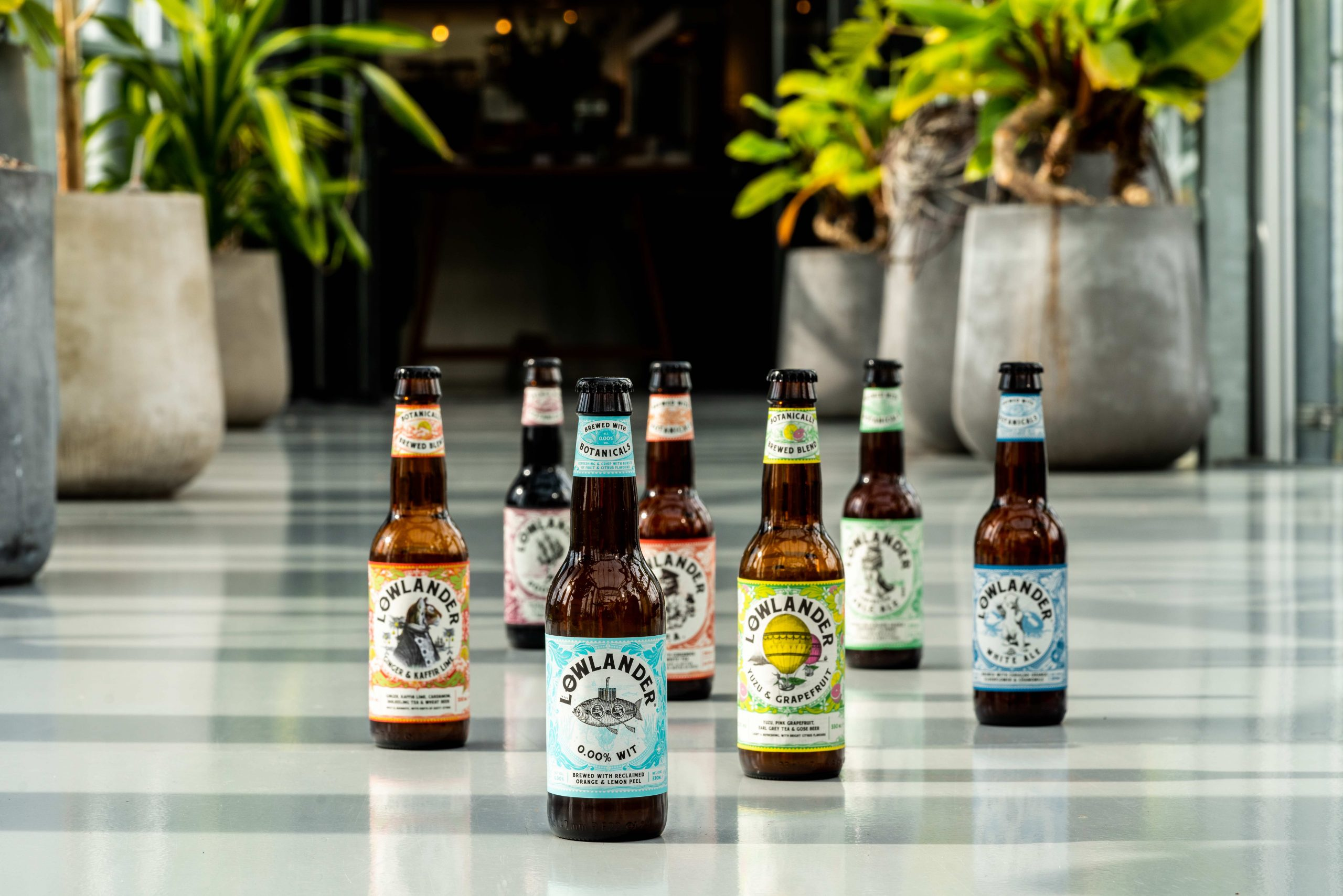 Lowlander Botanical Beer Announces Westons Cider Distribution Partnership In Uk photo