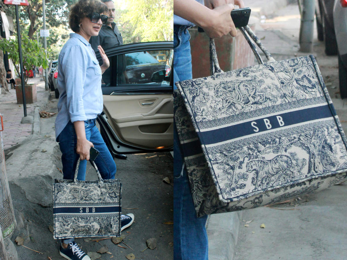 Sonali Bendre's Bag Has Her Initials Written On It And It's Super Expensive photo