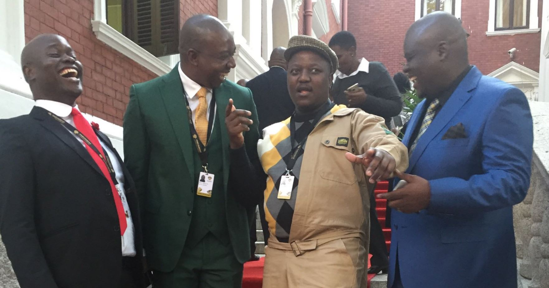 Boy Mamabolo: Anc Mp Removed From Front Of Parly After Malema Spat photo