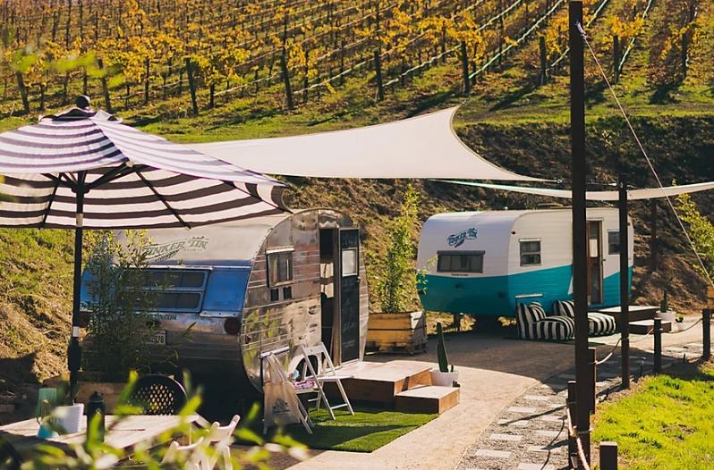 Alta Colina Vineyard Lets You Sip Wine In A Vintage Camper photo
