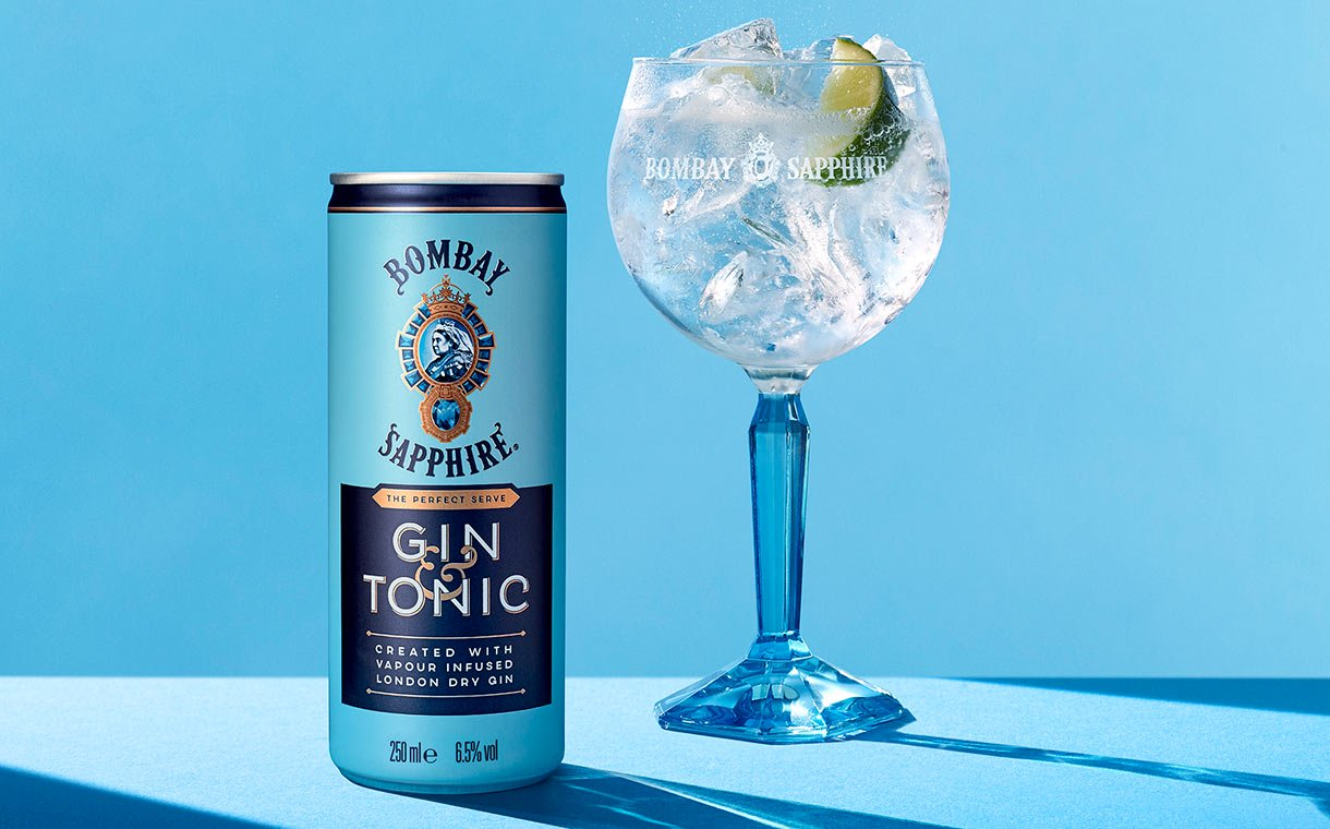 Bacardi Releases Ready-to-drink Bombay Sapphire Gin And Tonic photo
