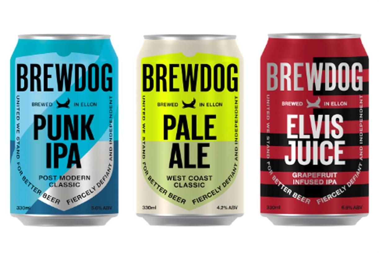 Brewdog Will Trade Used Cans For Equity As Part Of Sustainability Manifesto photo